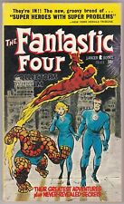 FANTASTIC FOUR COLLECTOR'S ALBUM (1966) Lancer Books #72-111 - JACK KIRBY art