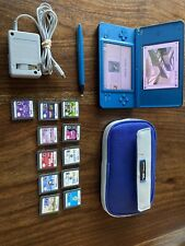 Nintendo DSi XL Blue Handheld System w/ Stylus Games & Charger