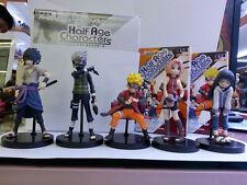 Anime Cartoon Naruto Kakashi Sasuke Sakura Hinata PVC Action Figure Model 6pcs