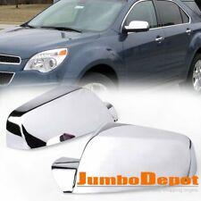 Fit For 2010-2017 Chevy Equinox / GMC Terrain Chrome Rear View Mirror Cover Trim