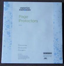 CREATIVE MEMORIES TRUE 12x12 PAGE PROTECTORS BNIP