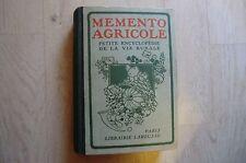 livres-mémento agricole petite encyclopédie de la vie rurale Larousse 1943 -