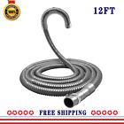 """Washer Drain Hose Extension Kit 12FT Universal Drainage Hose 1"""" to 1-1/4"""" 1-1/8"""" photo"""