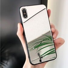 For iPhone X 8 7 6s Plus 6 Luxury Mirror Back Soft Bumper Hybrid Slim Case Cover