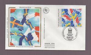 FDC 1994 - Francia Gamuza - Relaciones Cultural (2418)
