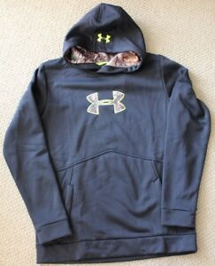 Under Armour XL YXL Sweatshirt Hoodie Camouflage Fleece Camo NWT Boy's $55