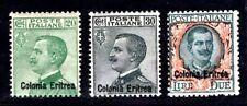 ITALIENISCHE KOLONIEN ERITREA 1925 98-100 ** POSTFRISCH SATZ (M0154