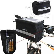 Cycling Bike Bicycle MTB Front Basket Handlebar Bar Bag Quick Release ROSWHEEL