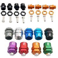 4PCS 12mm to 17mm Wheel Tires Hex Hub Adapter For 1/10 LOSI Ten Baja Rock RC Car