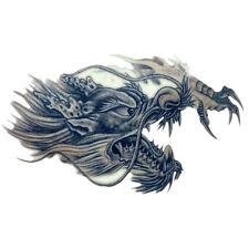 Temporary Tattoo Large 3D Dragon Head Waterproof Removable Arm Leg Body Sticker~
