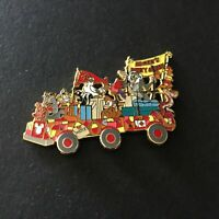 Animal Kingdom Mickey's Jammin' Jungle Parade Main Float Retired Disney Pin 7963