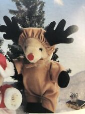 """Bear Wear Reindeer Outfit/Costume by Westwater Ent. for 12"""" bear or doll Nip!"""