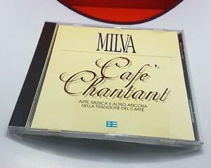 MILVA CAFE' CHANTANT CD