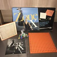 Vintage Invicta ZONE X 1975 Intrigue, Mystery & Logic Board Game
