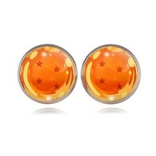 Dragon Ball Super Shenron Silver Plated Woman Stud Earring Jewelry gifts