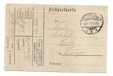 feldpostkarte  1917  ( c6 ) .