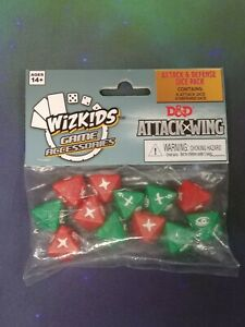 D&D Attack Wing - Attack & Defense Dice Pack