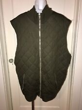 POLO GOLF RALPH LAUREN Green Performance Quilted Lined Vest Size XXL
