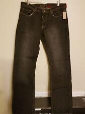 NWT $62 ELEMENT Rocker jeans dirty black slim skateboard mens size 36x34