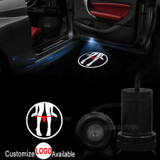 2x Sexy Lady Logo Car Door LED Welcome Lamp Laser Projector Ghost Shadow Light