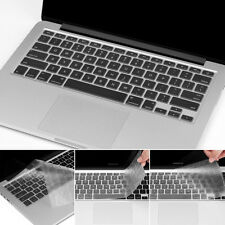 """Washable Protective Film Keyboard Cover Skin for Macbook Pro 13/15/17"""" Silicone"""