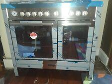baumatic dual fuel twin cavity cooker