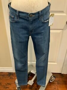 "Hudson ""Nico Midrise Super Skinny"" Blue Medium Wash Jeans, Size 28"