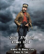 Officer, 57th Regiment Crimea 1854    A Foxwood Figures 120mm resin kit