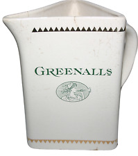 Greenalls Large Water Jug by Crown Winsor Pottery Vintage Collectors Jug