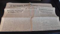 Diario Nacionalista ACCIÓN Francesa 26 Abril 1934 N º 116 ABE