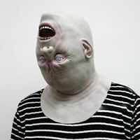 Halloween Adult Mask Zombie Mask Latex Bloody Scary Alien Devil Full Face Mask
