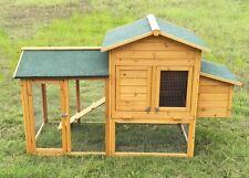 Neocraft Gabbia per galline pollaio XXL Conigliera in legno ciliegio polli Cc347
