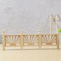 Doll's House DIY Fence nature Wood 1:12 for dollhouse new