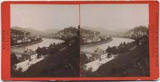 Original 1901 Stereoaufnahme SALZBURG Von Mülln, von WÜRTHLE