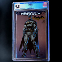 BATMAN #1 REBIRTH SDCC Silver Foil Variant 💥 CGC 9.8 💥 Tom King DC Comics 2016