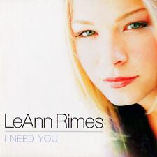 CD Single - LeAnn RIMES - I NEED YOU ★★★★★★★★★★★★★★★★★★★★★★★★★★★★★★★★★★★★★★★★★★★