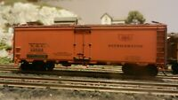 Athearn Ltd Run HO Steel Side Ice Reefer, GM&O,Weathered,Upgraded Exc.