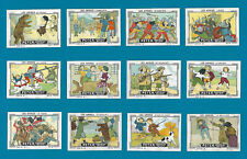 POSTER STAMPS CHILDREN GAMES GUILLAUME TELL DON QUIJOTE HUNTING DOG PETER