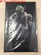 Hot Toys MMS 369 Star Wars Episode V The Empire Strikes Back Yoda Figure NEW