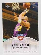 Leaf Karl Malone Utah Jazz Original Basketball Trading Cards