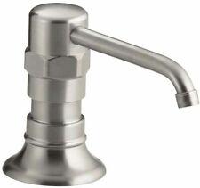Kohler  K-7346-BS  Hirise Brushed Stainless Kitchen Countertop Lotion Dispenser