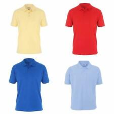 Proquip Golf Tour Elite Polo Shirt, Size Small to Extra Large. Yellow. Red. Blue