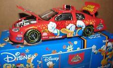 Nascar 04 Disney Donald Duck Daytona Stock Race Car Team Caliber Ltd Ed 1:24 New