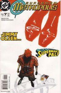 Superman  Metropolis #7  Dc Comic Book