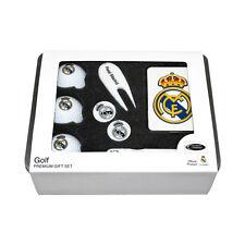 véritable MADRID FC Premium GOLF cadeau métal, balles, Sac Tag, stylo