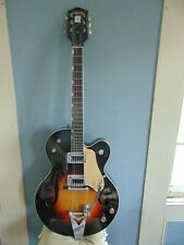 1964 GRETSCH 6117 DOUBLE ANNIVERSARY SUNBURST ELECTRIC GUITAR w BIGSBY  TREMELO
