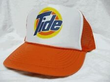 Tide Trucker Hat mesh hat snapback hat Orange