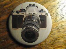Olympus OM-D Camera Lens Photographer Photo Advertisement Pocket Lipstick Mirror