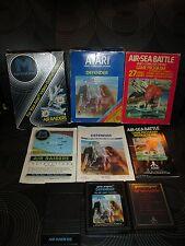 Atari 2600 Games - Lot Of 3 COMPLETE Games
