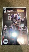 IDW Transformers Back to the Future #1 2020 NYCC Comic Con Exclusive NEW